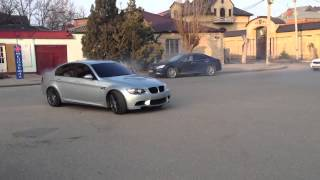 На BMW четко исполнил