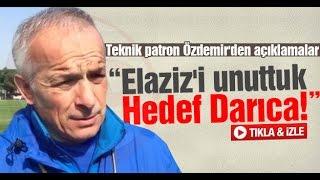 Teknik patron Özdemir'den açıklamalar