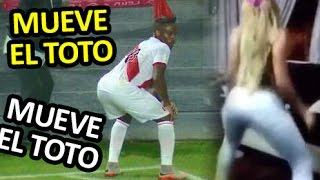 getlinkyoutube.com-Mueve el Toto   Gol de Farfan   Peru vs Paraguay 13/11/2015