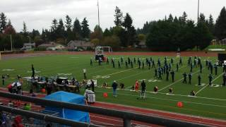 getlinkyoutube.com-West Valley HS Marching Band @ Tumwater 2016
