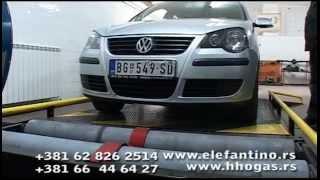 getlinkyoutube.com-VW Polo 1.2 petrol + LPG + Vodonik HHO Generator - TEST