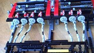 getlinkyoutube.com-Lego technic mechanical seven-segment display