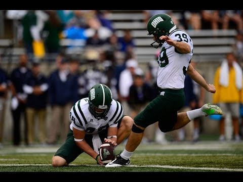 Ohio Football 2014: Josiah Yazdani - 2014 Lou Groza Watch List