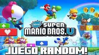 getlinkyoutube.com-JUEGO RANDOM! New Super Mario Bros Wii U!