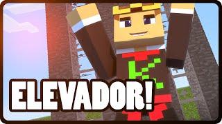 getlinkyoutube.com-Minecraft PE 0.13.1: COMO FAZER UM ELEVADOR - NOVIDADE DA NOVA VERSÃO!!!