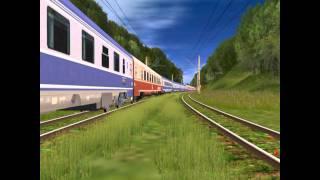 getlinkyoutube.com-Cel Mai Lung Tren de Calatori - The Longest Passenger Train in TRS