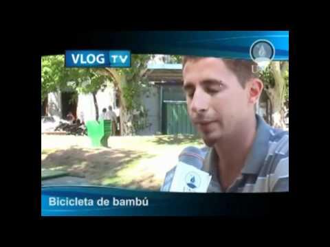 Estudiante fabrica bicicletas de bambú