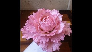 getlinkyoutube.com-How to Make a Gum Paste Peony