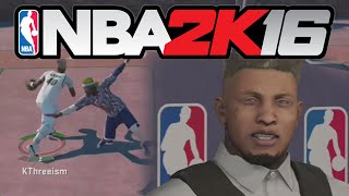 getlinkyoutube.com-NBA 2K16 MyPARK - THEY CALLED ME OUT!!?? #AllenIverson #PrayForAnkles