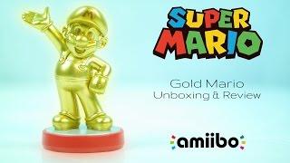 getlinkyoutube.com-Gold Mario Amiibo Unboxing & Review | Super Mario Bros. Series Wave 1