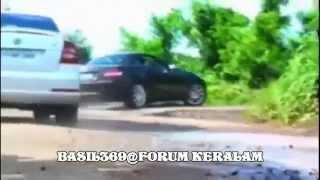 getlinkyoutube.com-Dulquer Salmaan Mammootty 369 Car Chasing :)