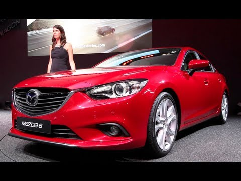 New 2014 Mazda 6 Sedan - 2012 Paris Motor Show