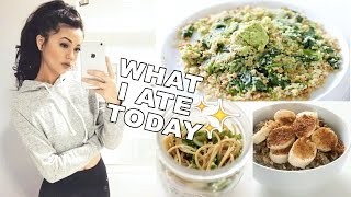 What I Eat On A School Day! Healthy, Vegan & Easy