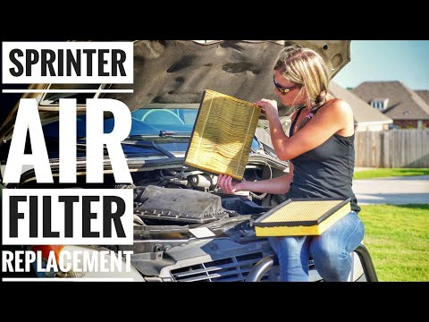 How to Replace a Sprinter Air Filter