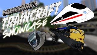 getlinkyoutube.com-TrainCraft Showcase - TRAINS IN MINECRAFT!
