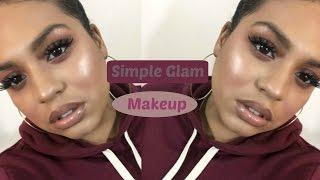 Simple Glam Makeup | Crystal Britney