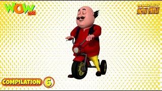 Motu Patlu - Non stop 3 episodes | 3D Animation for kids - #6