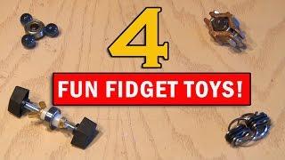getlinkyoutube.com-Kill that Boredom with 4 Fun Fidget Toys you can Make!