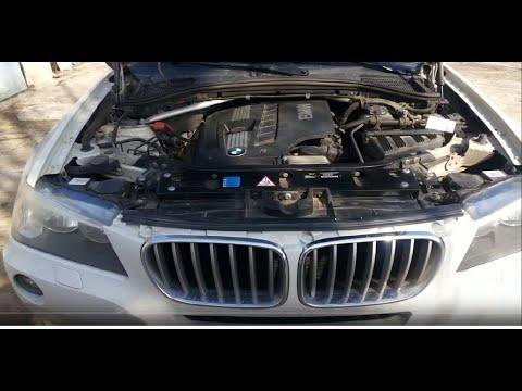 BMW X3 F25 2012 Замена свечей, быстро и просто