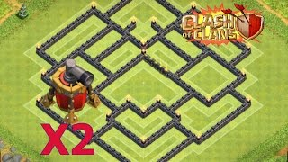 getlinkyoutube.com-Clash of Clans - BEST Town Hall 10 (TH10) Farming Base With 2 Air Sweepers Speed Build