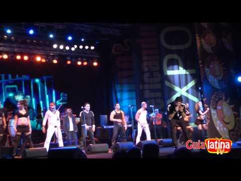 Concierto David Calzado y su charanga habanera - Latinoamericando Expo 2011