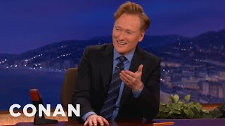 getlinkyoutube.com-Conan Gets Annoyed By Technical Difficulties