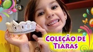 Comprinhas / Coleção de Tiaras Mini Princesa