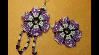 getlinkyoutube.com-DIY. Flor de bolitas, para pendientes, anillos, pulseras.