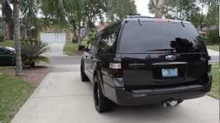 BAD ASS FORD EXPEDITION KIND RANCH EDITION BLACKED OUT!
