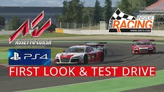 getlinkyoutube.com-Assetto Corsa PS4  Pre-Release First Look and Test Drive