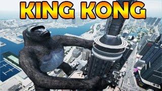 getlinkyoutube.com-Saviez-Vous Que ..? #34 : KING KONG SUR GTA 5 !!