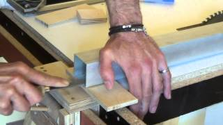 getlinkyoutube.com-*mkds table saw fence, fast and strong (οδηγός τραπεζιού δισκοπρίονου)
