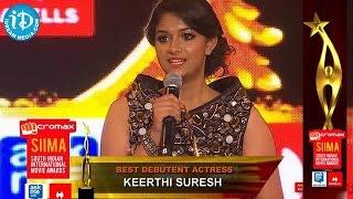 getlinkyoutube.com-Best Debutant Actress Keerthi Suresh - SIIMA 2014, Malayalam