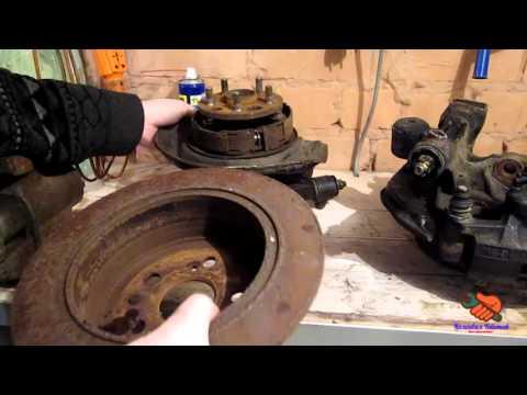 Проверка контрактных запчастей дисковые тормоза TOYOTA CORONA ST 190 (CARINA E)