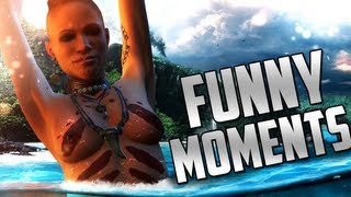getlinkyoutube.com-Far Cry 3 Funny Moments (Road Kill, Animal Attacks) ft. H2O Delirious