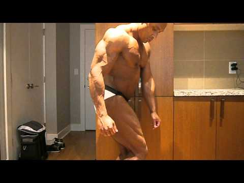 5 days out from 2012 CBBF Elite Nationals 3rd day of depletion