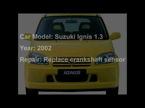 Suzuki Ignis 1.3 crankshaft Sensor replace