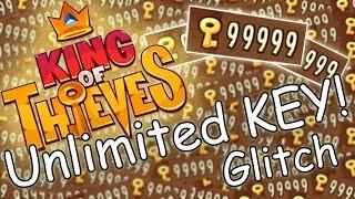 getlinkyoutube.com-King of Thieves Unlimited KEY Glitch! - Easy!