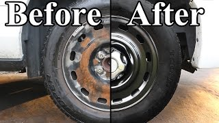 getlinkyoutube.com-How to Paint the Wheels on your Car