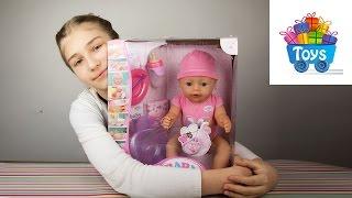 getlinkyoutube.com-Кукла беби бон распаковка. Baby born doll,Беби бон видео 3.