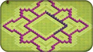 getlinkyoutube.com-Clash of Clans Layout Farm CV 7 (CoC )TH7 Farming Base 2015