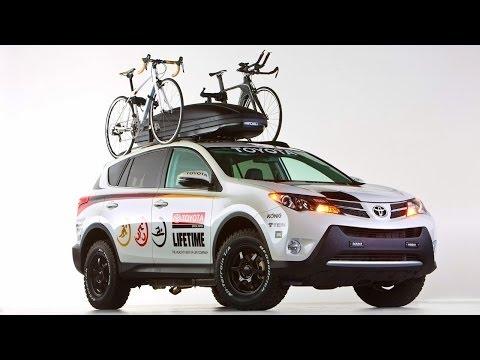 Lifetime Fitness Toyota RAV4 2013 @ Sema Show
