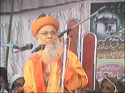 Syed Hashmi Miyan new taqreer 2013   YouTube