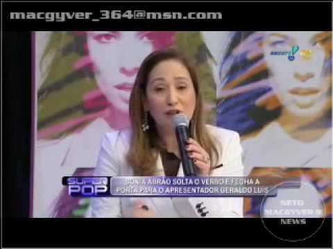 Sônia Abrão Detona Geraldo Luiz.