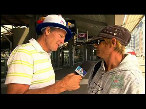 2011 AFL Footy Show - Street Talk - Docklands (17/03/11)
