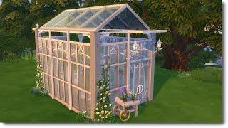 getlinkyoutube.com-The Sims 4: Speed Room Build - Greenhouse