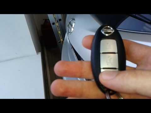 Видео: Как открыть багажник Nissan Murano, Ниссан Мурано с кнопки брелка сигнализации
