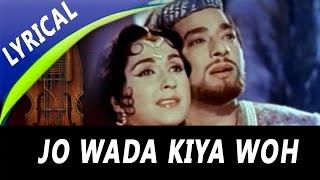 getlinkyoutube.com-Jo Wada Kiya Woh Nibhana Padega Full Song With Lyrics | Mohammed Rafi, Lata Mangeshkar | Taj Mahal