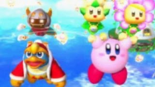 getlinkyoutube.com-Kirby: Triple Deluxe - All Boss Fights (Story Mode)