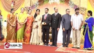 getlinkyoutube.com-K Balachander's Granddaughter wedding reception